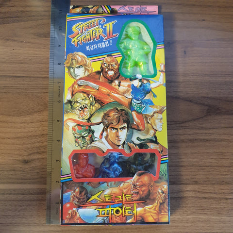 Street Fighter 2 - Korean Keshi Box Set #2