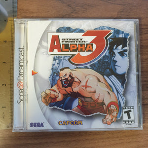 Street Fighter Alpha 3 - Dreamcast (American Version) - BRAND NEW SEALED