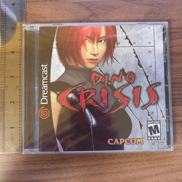 Dino Crisis - Dreamcast (American Version) - BRAND NEW SEALED