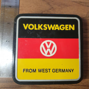 Volkswagen From West Germany Vintage Tin Container - 20200623