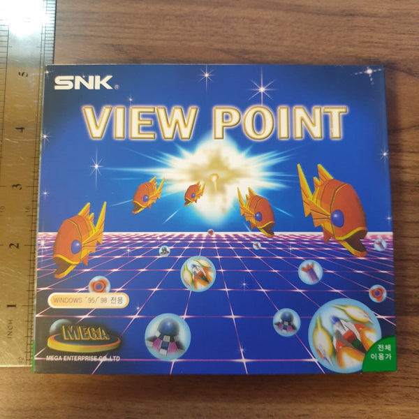 View Point - Korean PC Game - OFFICIAL SNK / MEGA RELEASE - BRAND NEW
