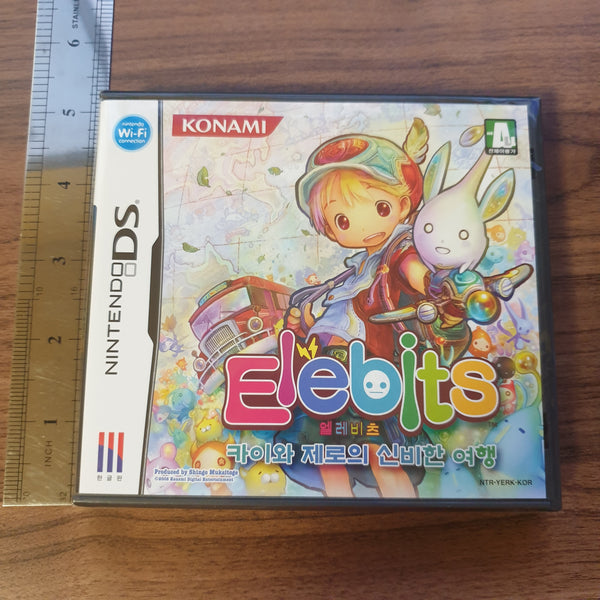 Elebits - Nintendo DS - Korean Version (BRAND NEW & FACTORY SEALED)
