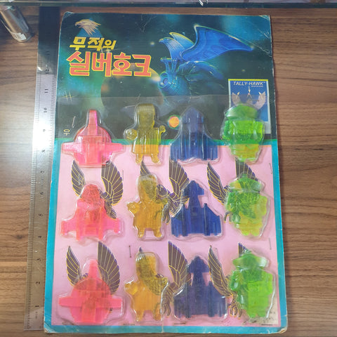 Silverhawks X Jiangshi Korean Rubber Ddakji w/ Original Display Board