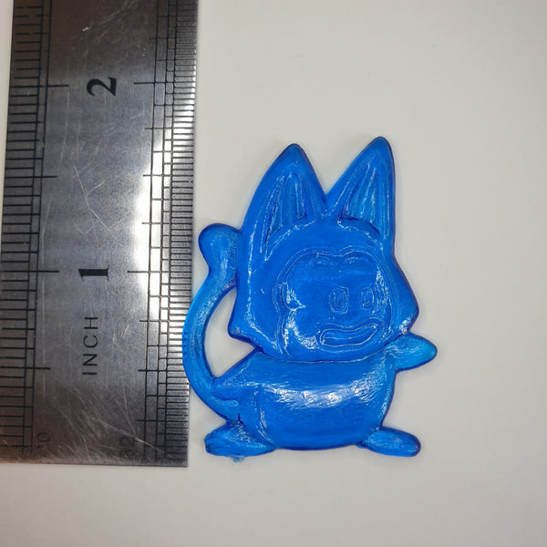 Dragon Ball 鬥片 (Fight Piece) (Taiwanese Toy) - Puar - Blue  - 20200830 -