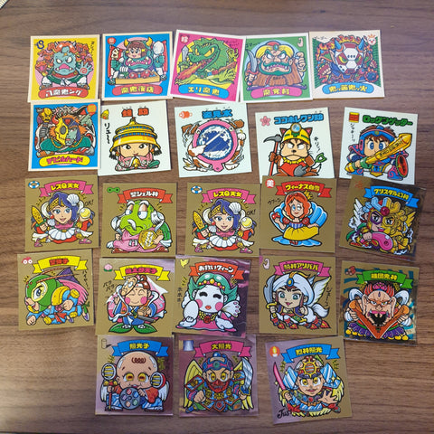 Bikkuriman Forever Series Lot (23 STICKERS) - BL11 - 20200831