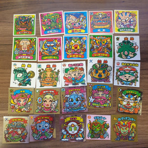 Bikkuriman Lot (LATER PARTS) #1 (25 STICKERS) - BL11 - 20200831