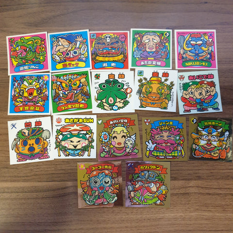 Bikkuriman Lot (LATER PARTS) #2 (17 STICKERS) - BL11 - 20200831
