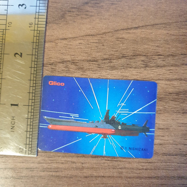 Space Battleship Yamato Glico Collectible Sticker #2 - 20200904 - BL11