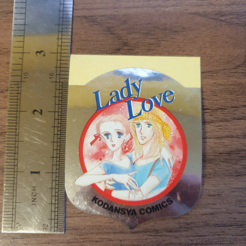 Lady Love Shiny Silver Sticker - 20200904 - BL11