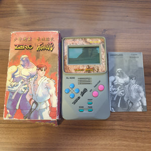 Zero Fighter (Unlicensed Chinese Street Fighter Alpha LCD Game)