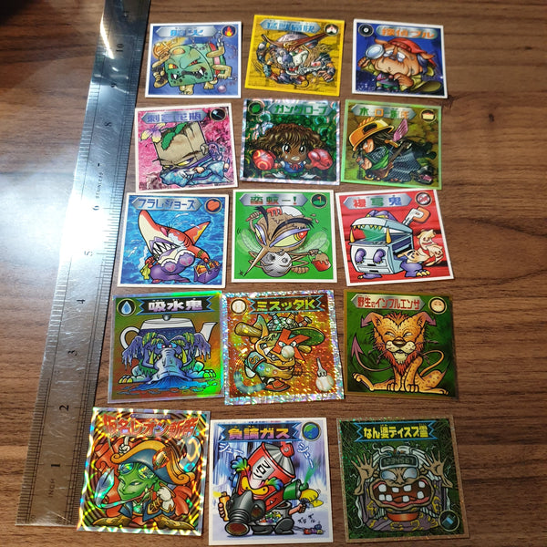 Bikkuriman 2000 Sticker Lot #05 - 20201020 - BL11