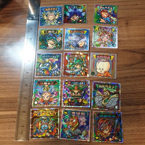 Bikkuriman 2000 Sticker Lot #07 - 20201020 - BL11