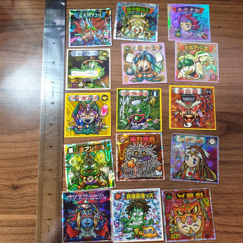 Bikkuriman 2000 Sticker Lot #09 - 20201020 - BL11