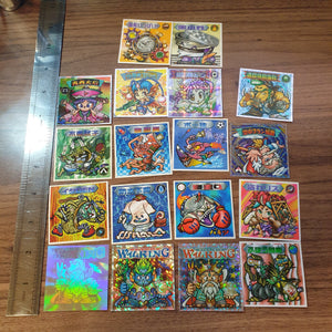 Bikkuriman 2000 Sticker Lot #10 - 20201020 - BL11