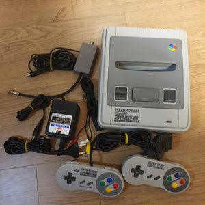 Hyundai Super Comboy Console (Korean Super Nintendo SNES) - 20201022 - KB01
