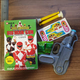 Korean Mighty Morphin Power Rangers Candy Toy (Zyuranger) - Suction Dart Gun Candy Toy