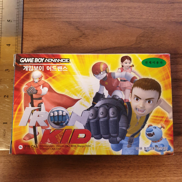 Iron Kid - Nintendo Gameboy Advance / GBA - KOREAN EXCLUSIVE (BRAND NEW)