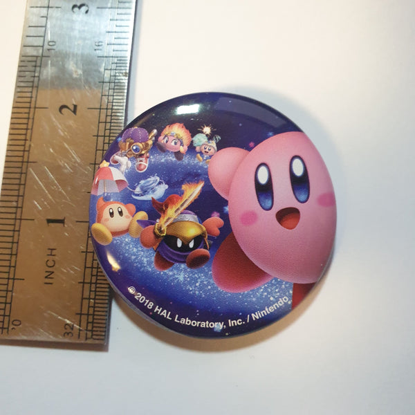 Kirby Gashapon Pin - 20210107