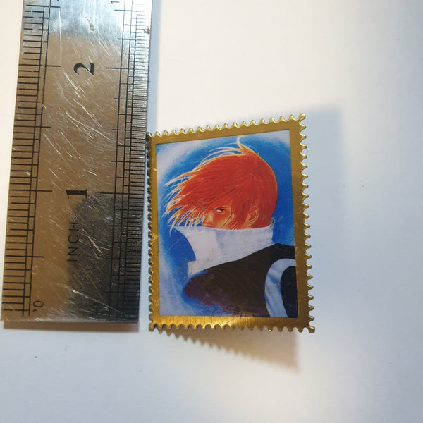 King of Fighters Enamel Pin - Iori (MADE IN KOREA) - 20210107