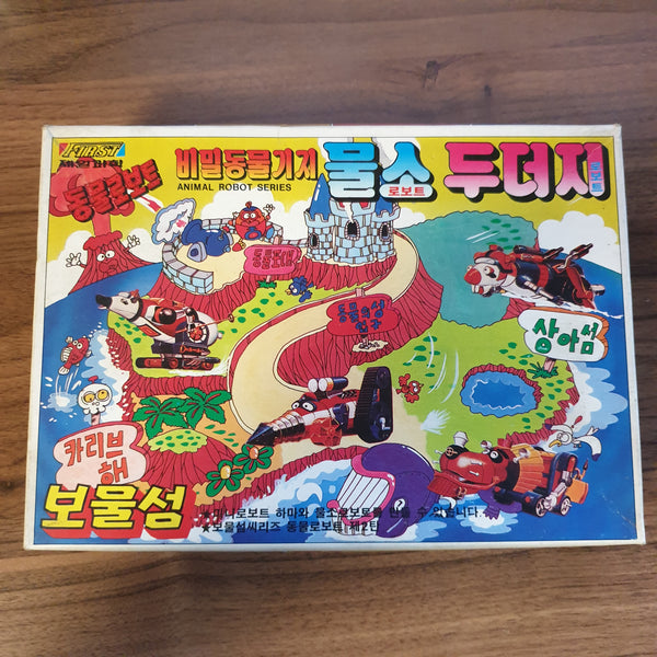 Robo Dachi Animal Robot Series / Korean Plastic Model Kit