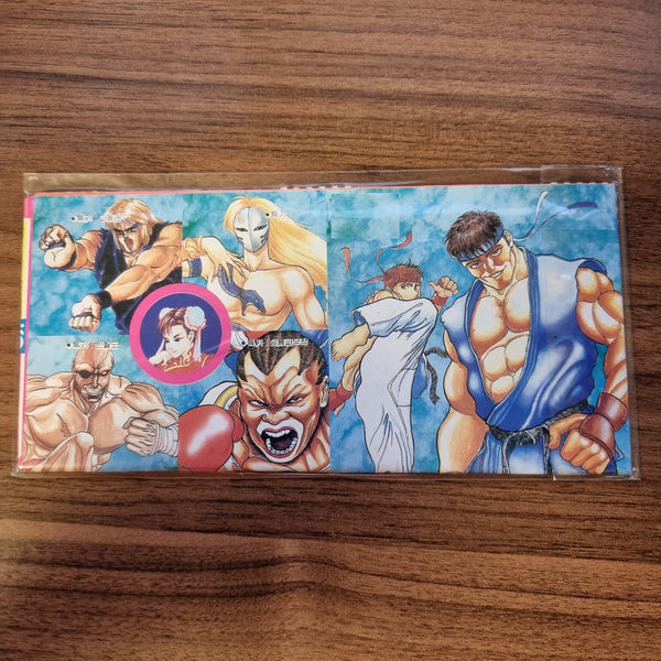 Vintage Korean Street Fighter II Paper Wallet