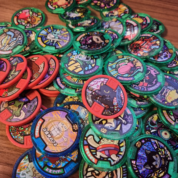 Yokai Watch Japanese Medal Lot (72 Pieces) - 20210330 - BL55