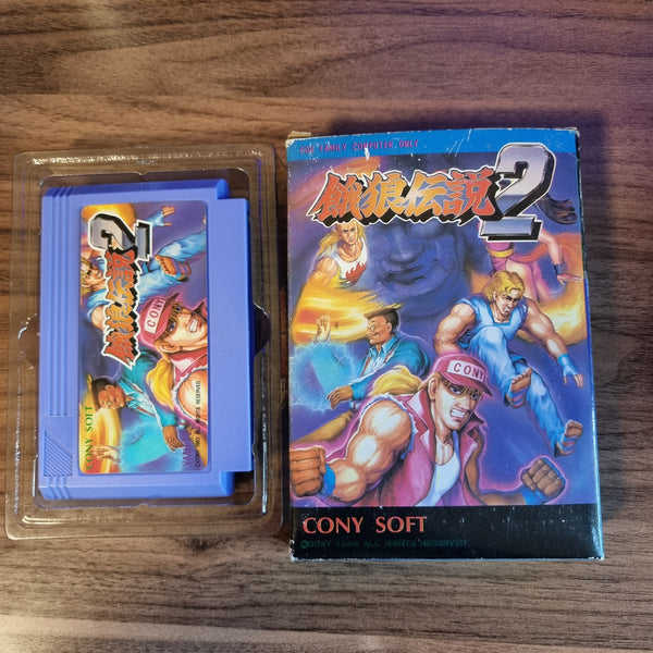 Unlicensed Famicom Cart CIB - Dragon Ball Z - Fatal Fury 2