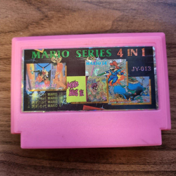 Mario Series 4-in-1 - Unlicensed Bootleg Famicom Multi Cart