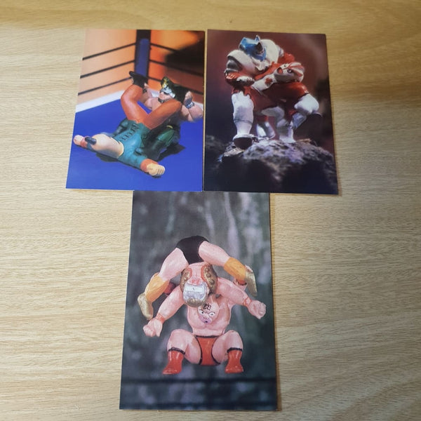 22X Painted Kinkeshi Cards - Cards & Stickers