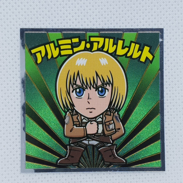 Attack on Titan Bikkuriman Sticker - Armin