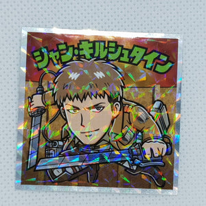Attack on Titan Bikkuriman Sticker - Jean (PT2)