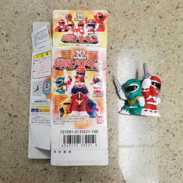 Sentai Hero Kids (Power Rangers) Candy Toy (2006) / Finger Puppet - #6 - FING01292019