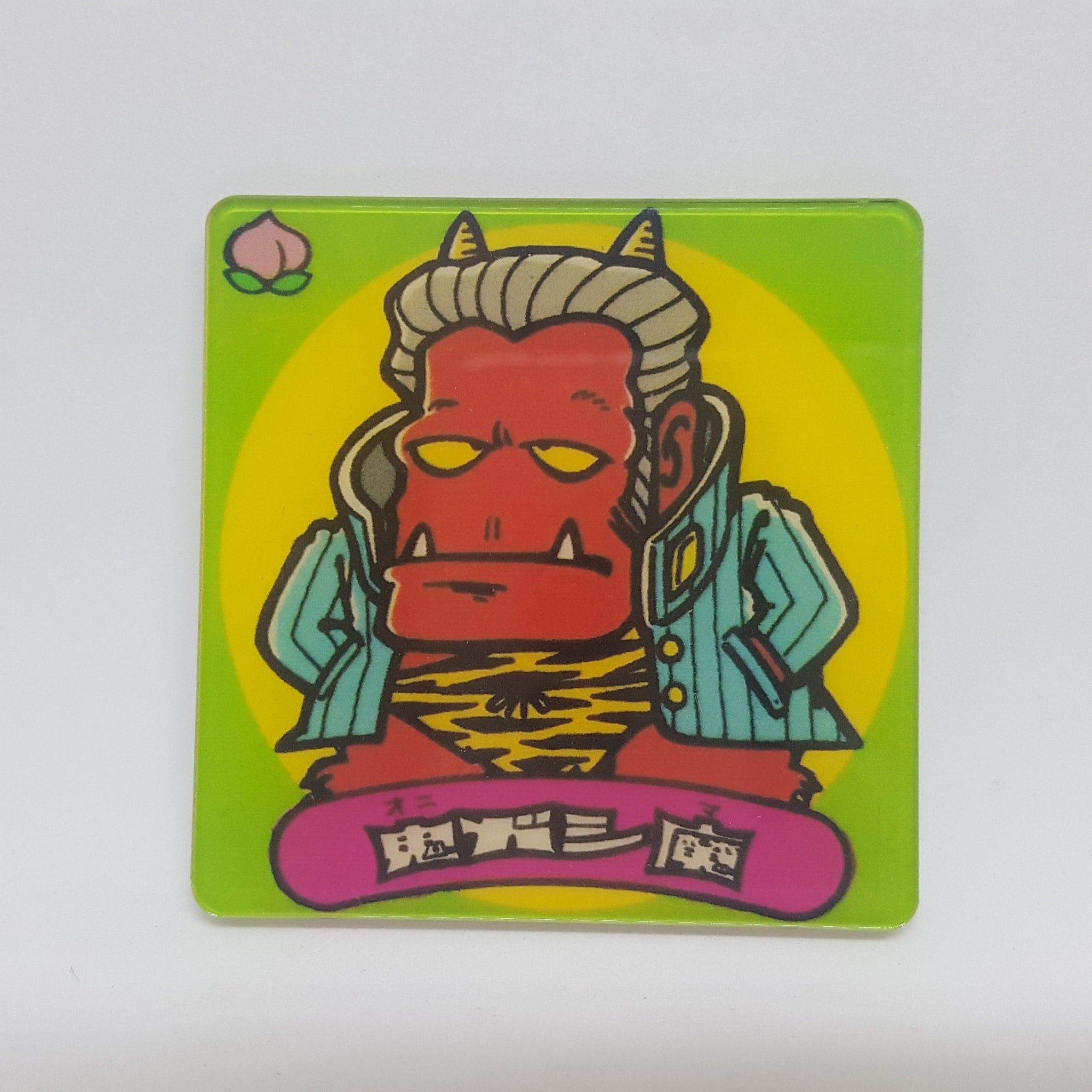 Bikkuriman Oni Gashi Ma Acrylic Pin - Pins & Patches