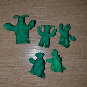 Kaiju Set (Green #2) - Keshi