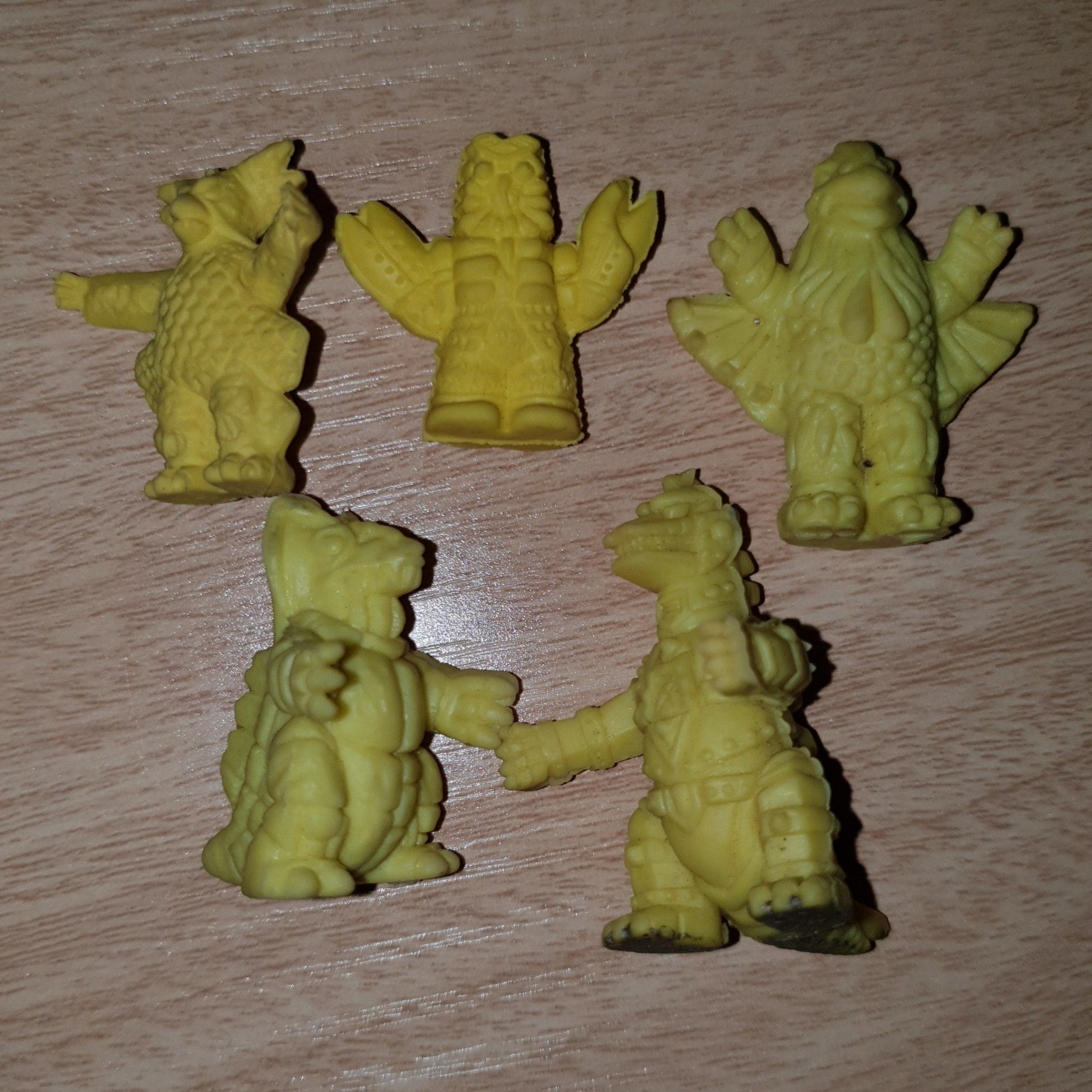 Kaiju Set (Yellow) - Keshi