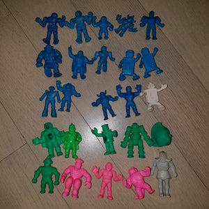 Stained & Dirty Kinkeshi Lot (Mixed Colors #1) - Keshi