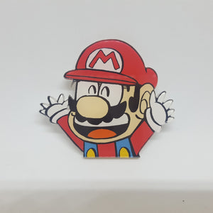 Super Mario Kun Acrylic Pin - Pins & Patches