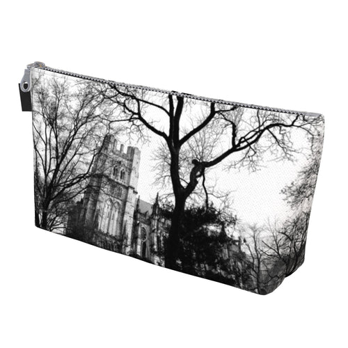 Cathedral Trees Makeup Bag