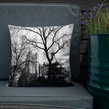 Load image into Gallery viewer, Cathedral Trees Throw Pillow