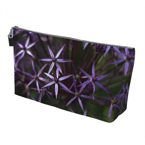 Purple Posey Makeup Bag