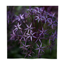Load image into Gallery viewer, Purple Posey Square Scarf