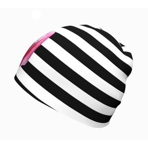 Rose & Stripes Beanie