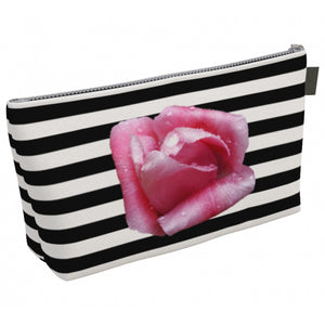 Rose & Stripes Makeup Bag