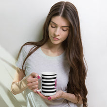 Load image into Gallery viewer, Rose & Stripes Mug