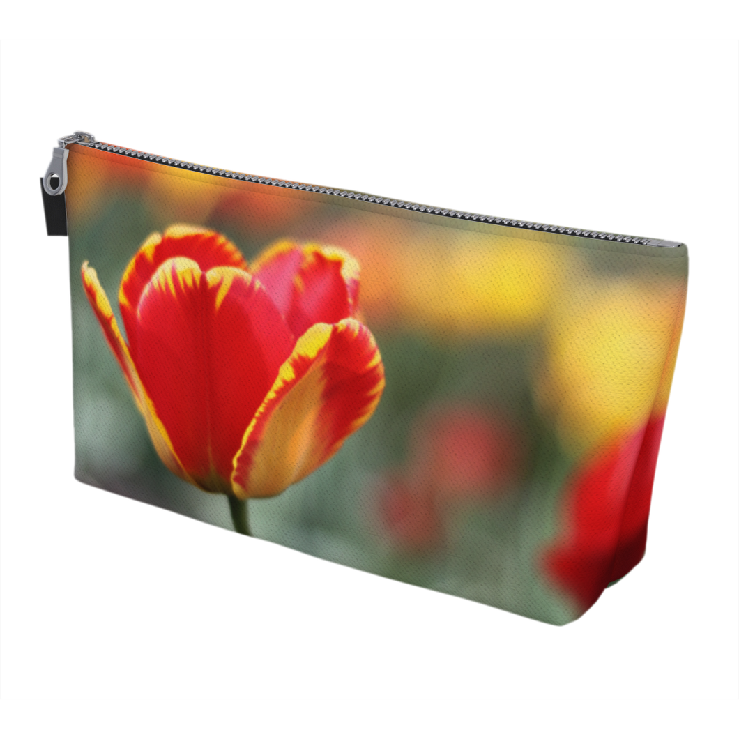 Totally Tulip Makeup Bag