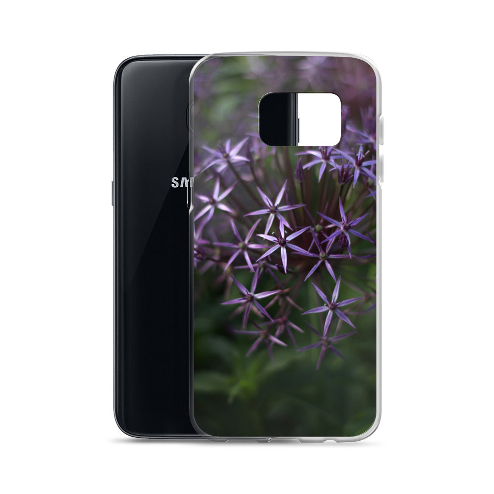 Purple Posey Samsung Case