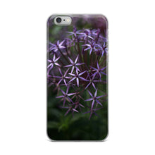 Load image into Gallery viewer, Purple Posey iPhone Case