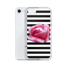 Load image into Gallery viewer, Rose & Stripes iPhone Case