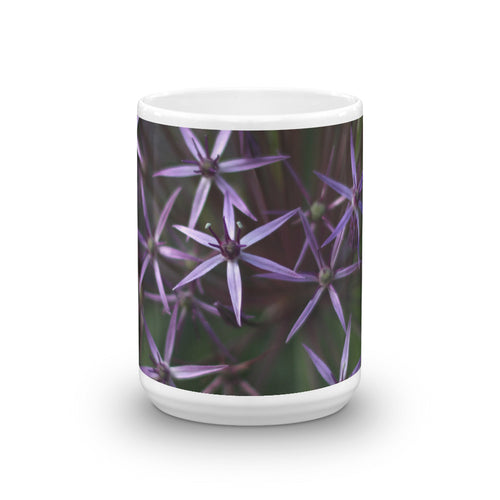 Purple Posey Mug