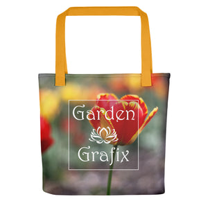 Totally Tulip Logo Tote